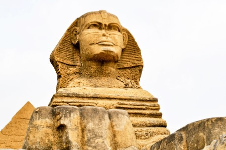 The Sphinx of Egyptian Pyramids