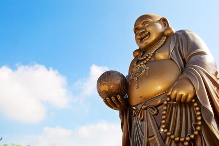 smiling buddha: Laughing Buddha