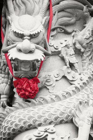 Pillar of dragon