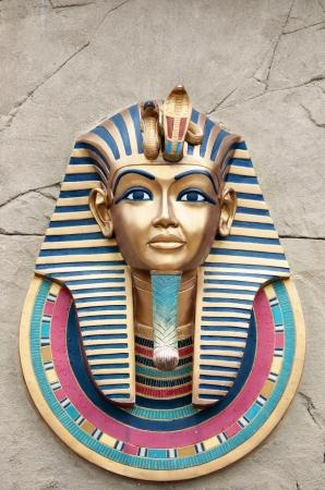 Gyptischen Pharao Kopf Standard-Bild - 14915079