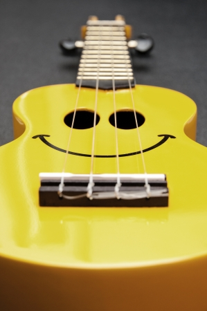 acoustic ukulele: Smiley ukulele