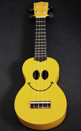 Smiley ukulele