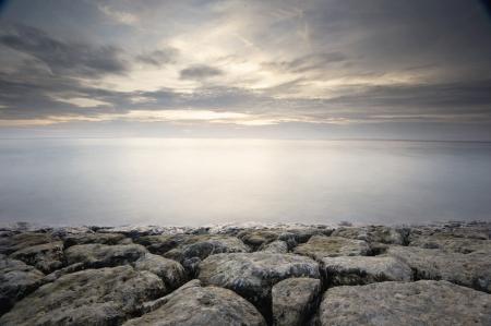 Strand Langzeitbelichtung Standard-Bild - 20847843