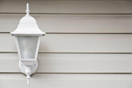 wall light: classic white wall lamp