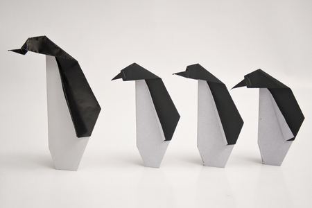 design objects: Origami penguins