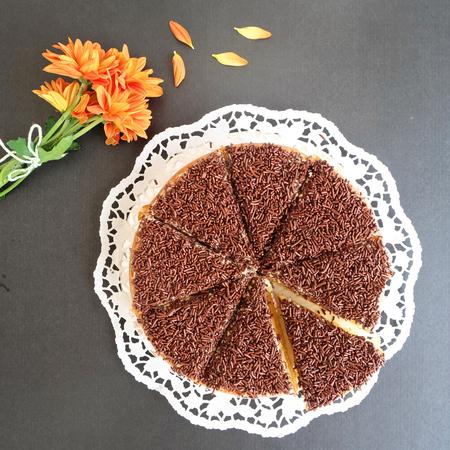 chocolate sprinkles: Home made Chocolate sprinkles cake