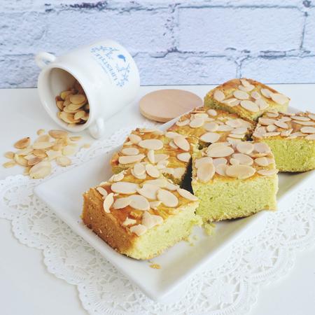 pandan: Home made pandan - peanut cakes