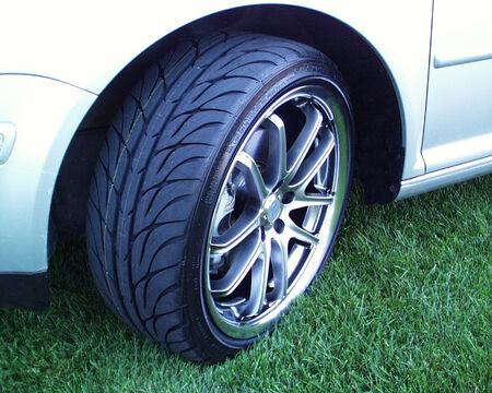 Sporty wheel.