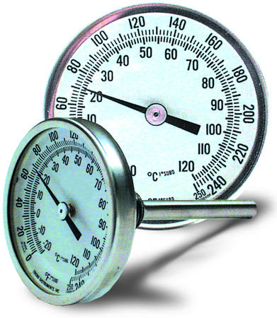 Immersion-type thermometer.