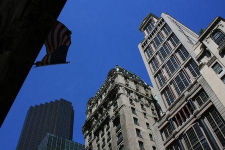 New York City skyline. Banco de Imagens
