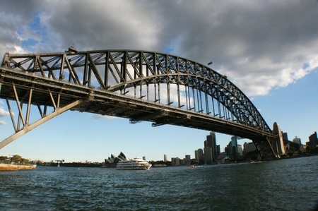 Sydney Harbour Bridge from the Bay