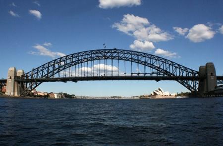 Sydney Harbour Bridge and Opera House Banco de Imagens