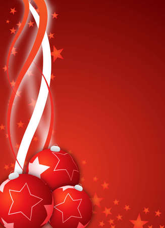 abstract red christmas background for design Stock Photo - 6251412
