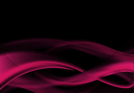 black and pink: dise�o de fondo negro y Rosa abstracta
