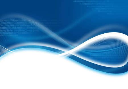 abstract blue technische achtergrond voor ontwerp
