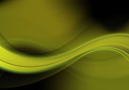 abstract green and black background design Stock Photo - 6261925