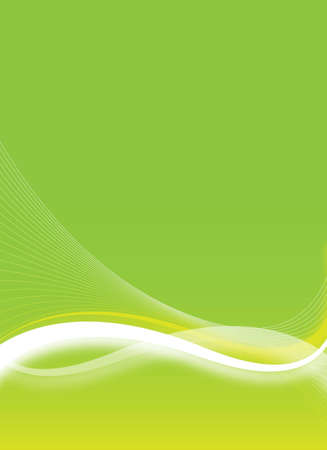 abstract green flyer for design
