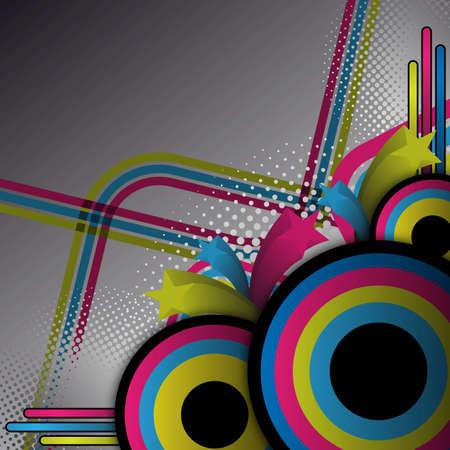 abstracte retro achtergrond voor ontwerp