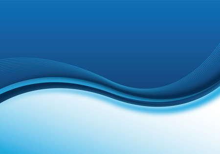 zacht en dynamische blue business achtergrond design