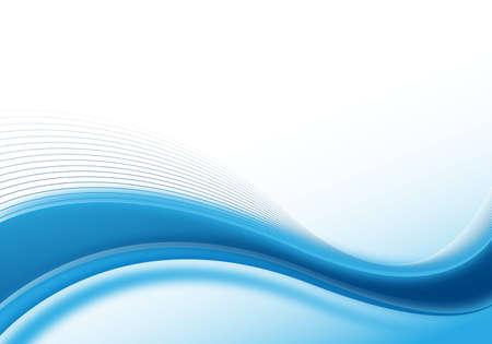 blauwe abstracte achtergrond voor ontwerp