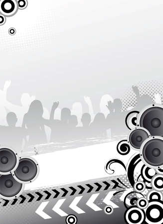 party template for design photo