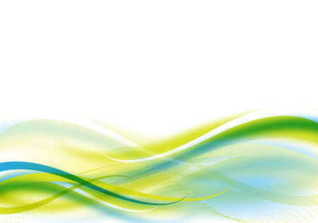abstract blue and green background for design