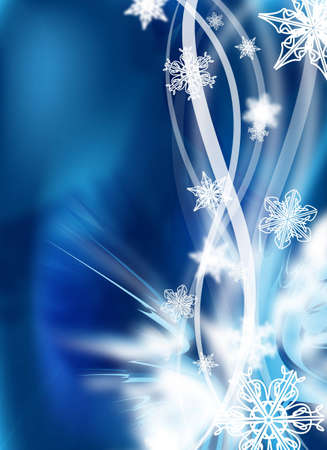 an abstract winter design  illustration for background illustration