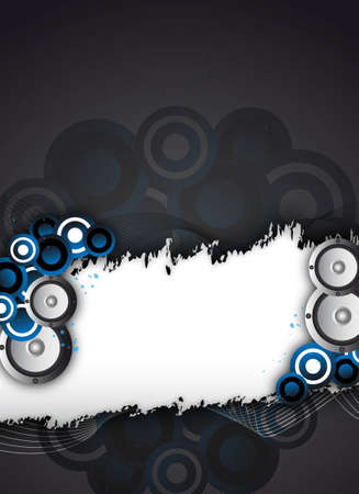 an abstract party / event background for design photo