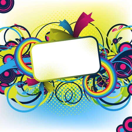 an abstract colorful artwork for design / party Stock Photo - 13054227