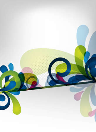 an abstract and colorful vector background for design Stock fotó