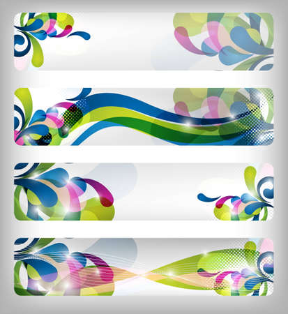 abstract colorful website banner and designs for any use photo
