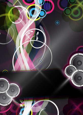 een abstract en kleurrijk evenement vector ontwerp  achtergrond