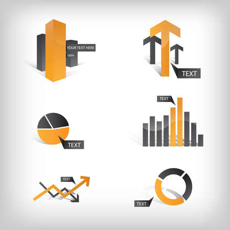 better business: Vector Info Graphic Icons and Elements