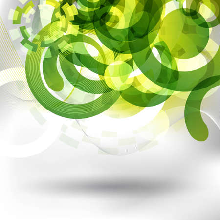 alpha: an abstract and futuristic green background for design