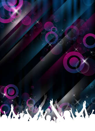 an abstract partyevent template for design photo
