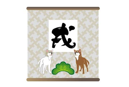ご挨拶日本芝犬の犬