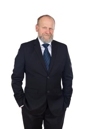good deal: Portrait of a confident businessman after a good deal
