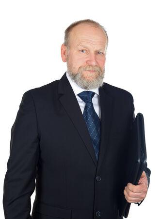 good deal: Portrait of confident businessman after a good deal Stock Photo