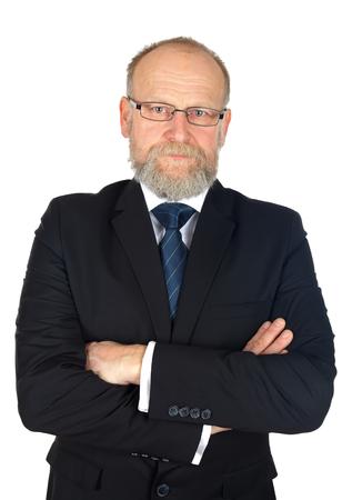 buen trato: Retrato de hombre de negocios seguro despu�s de un buen negocio