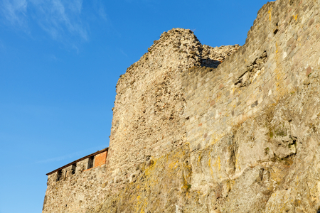 Beautiful picture of the Visegrad Castle ruins, Hungary Stock Photo
