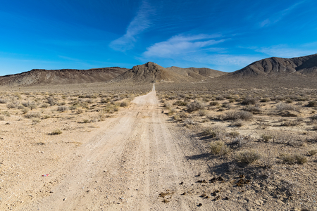 Scenic picture of the beautiful horizon in Arizona desert, USA Stock Photo