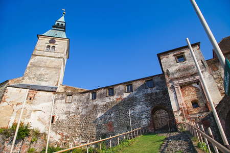 Medieval  Gussing castle in Austria, owned by the Batthyány family