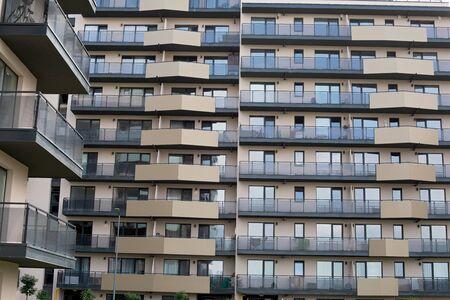 New residential area in Brasov, Romania - Flat blocks in construction