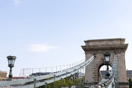 Beautiful picture of the hungarian chain bridge