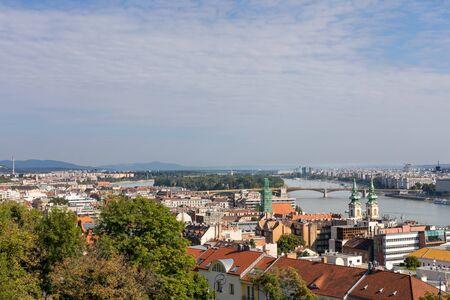 Beautiful view of Budapest, Hungarys capital city