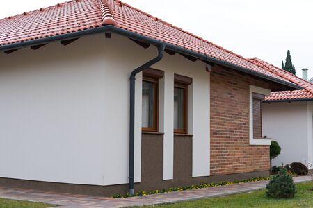 Zdjęcie nowoczesnego domu rodzinnego w Gyula na Węgrzech