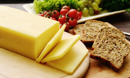 stilton: Selection of cheese - organic dairy products