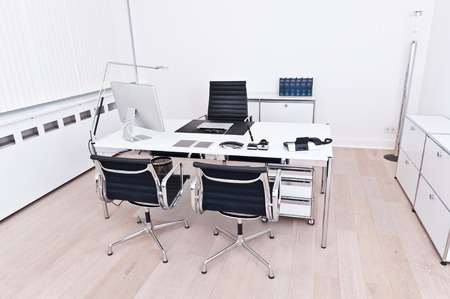interior of a modern and clean office