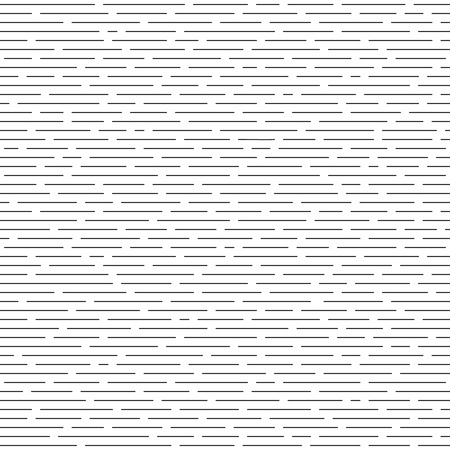 intermittent: Horizontal intermittent parallel lines. Seamless monochrome pattern. Texture for background. Illustration