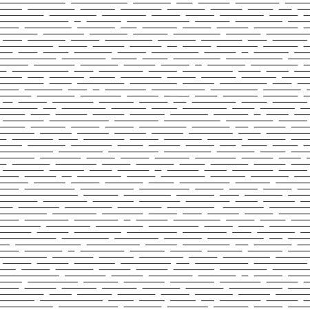 lineas horizontales: líneas paralelas horizontales intermitentes. monocromo patrón sin fisuras. La textura de fondo.